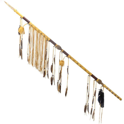 Native American Style Ceremonial Lance Spear