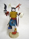 "10"" Navajo Made Clown Kachina Doll"