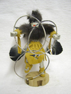 "10"" Navajo Made Ceremonial Hoop Dancer Kachina Doll"
