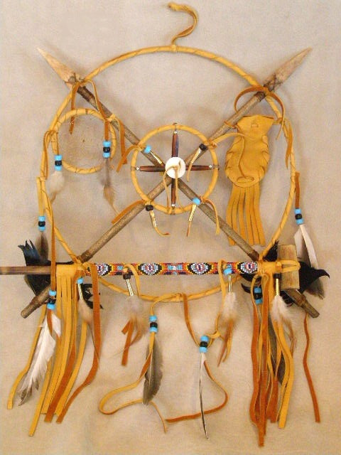 Hand Crafted Navajo Peace Shield Nativeamericanvault Com