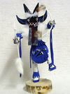 "6"" Navajo Made Angry Warrior Dancer Kachina Doll"