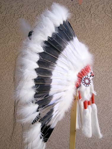 Native American Black Cloud Warbonnet