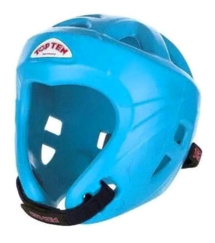 Top Ten Headguard Neon Blue