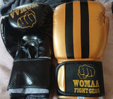 Kids Fit 10oz Boxing Gloves Gold