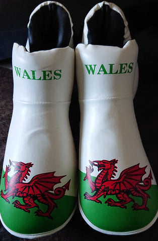 Welsh Flag boots