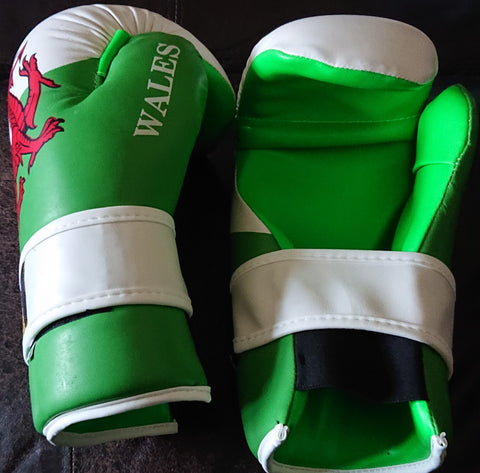 Welsh Flag Points Gloves