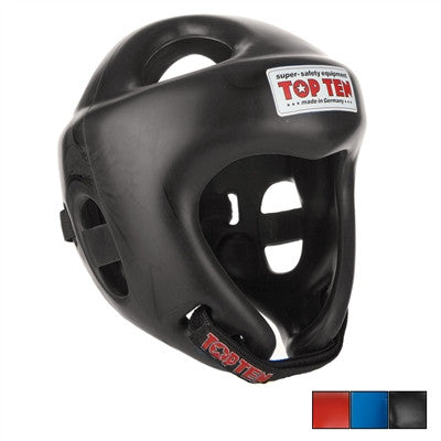 Top Ten Olympia Headguard Black