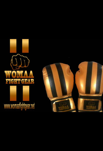 Gold 10oz Boxing Gloves