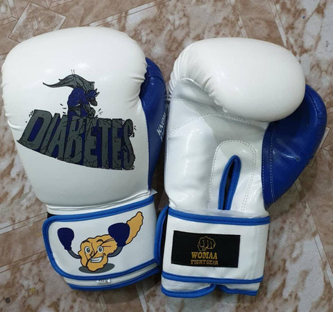 Diabetes 10oz Boxing Gloves