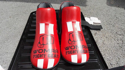 Womaa Fight Gear Boots Red/White/Black