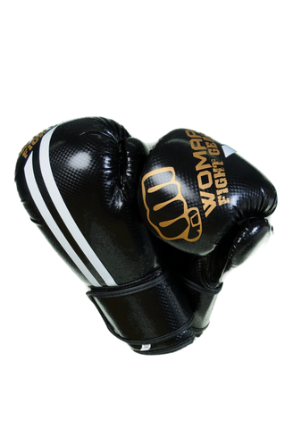 Womaa 10oz Boxing Gloves Black/Gold