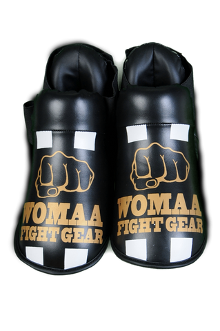 Womaa fight gear boots Black/Gold