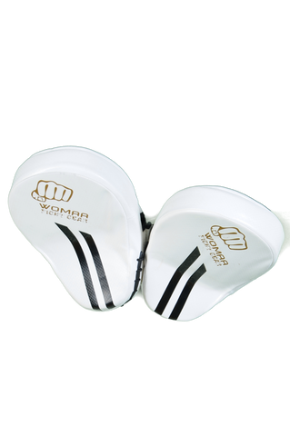 Womaa Fight Gear Focus Pads White/Gold
