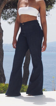 "Tall women's jeans in 36.5"" inseam, long pants with long inseam specially made tall fashion"