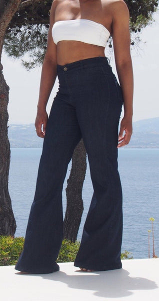 Ultra High Waisted Stretch Flares