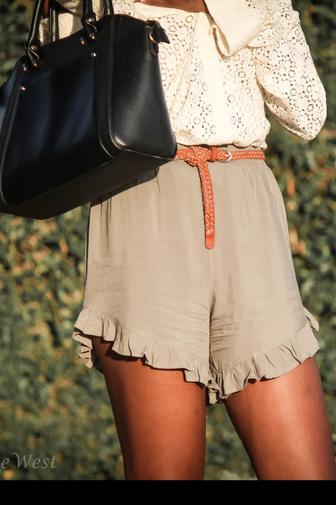 Ruffled Shorts