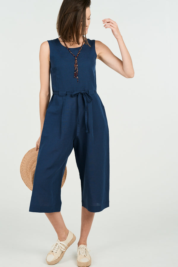 Eva Jumpsuit Navy