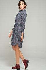 Annie Dress Daisy Wheel
