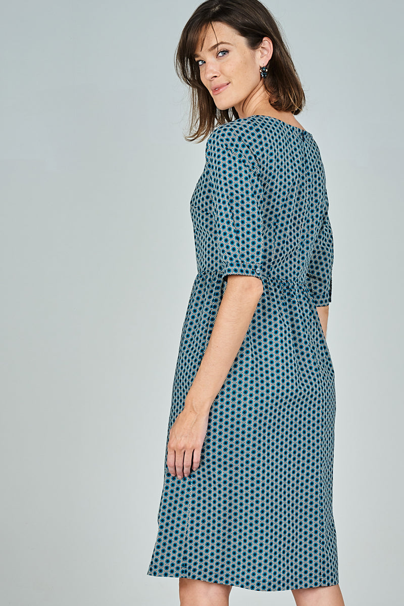 Apple Dress Geometric