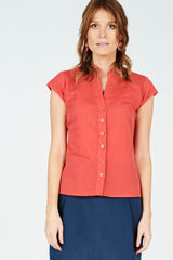 Billie Shirt Coral