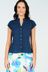 Billie Shirt Navy