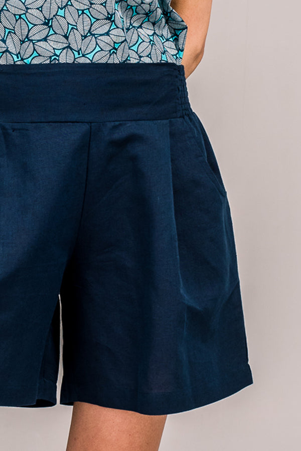 Clover Shorts French Navy