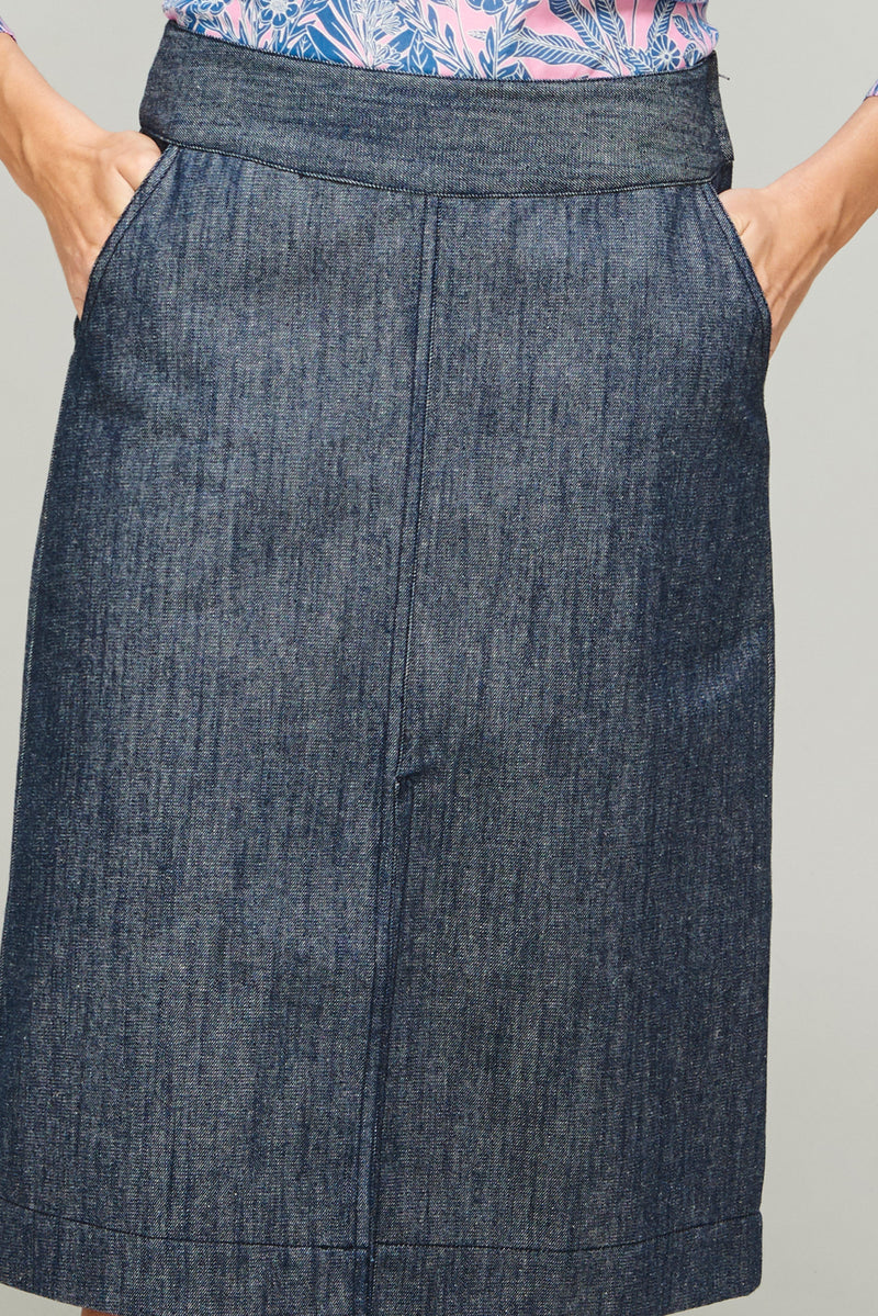Demi Skirt Denim