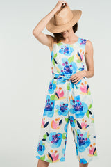 Eva Jumpsuit Watercolour