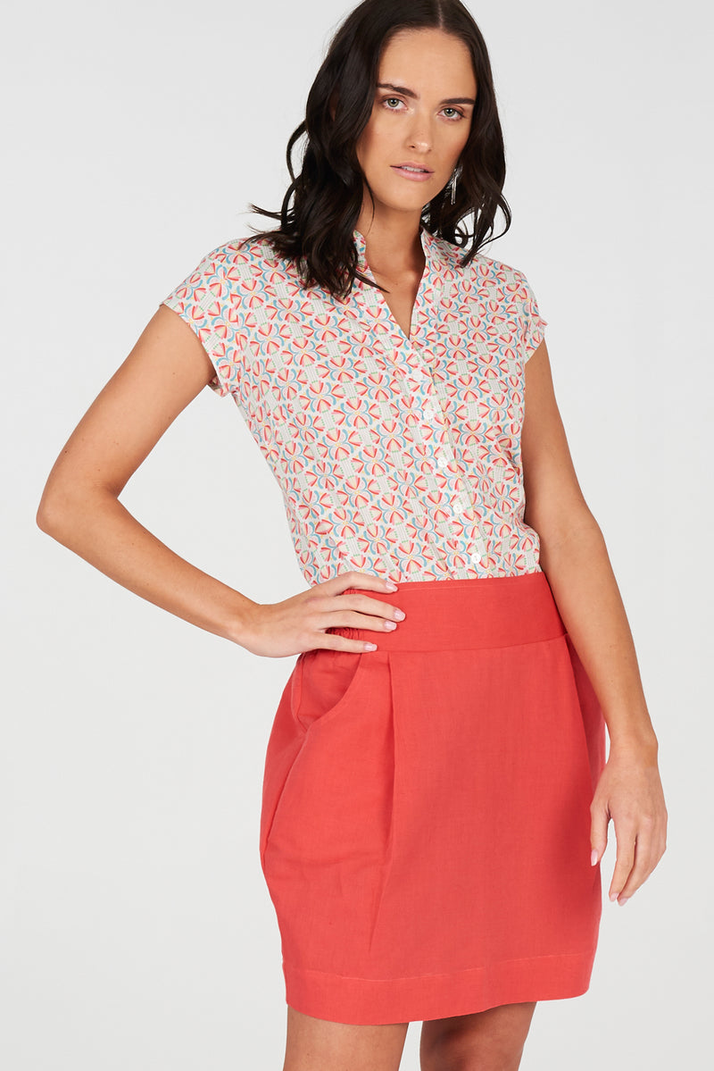 Grace Skirt Coral