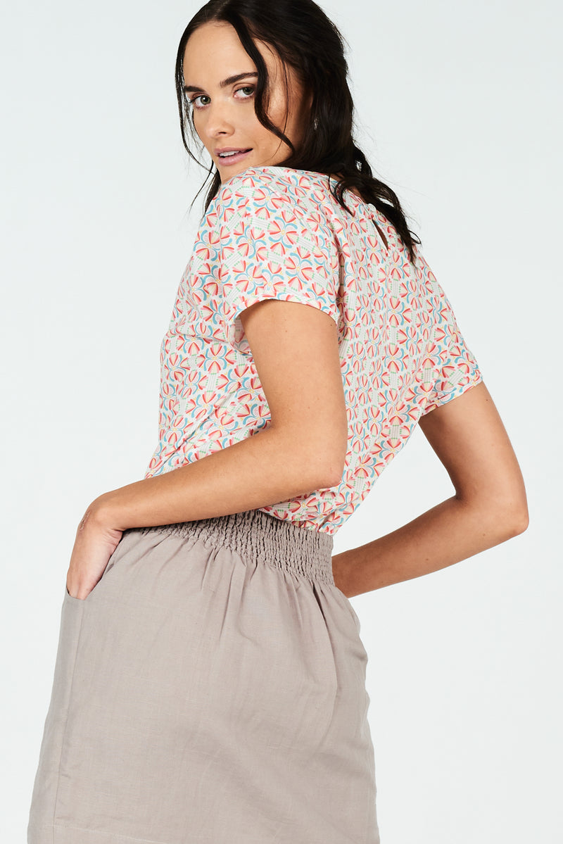 Grace Skirt Taupe