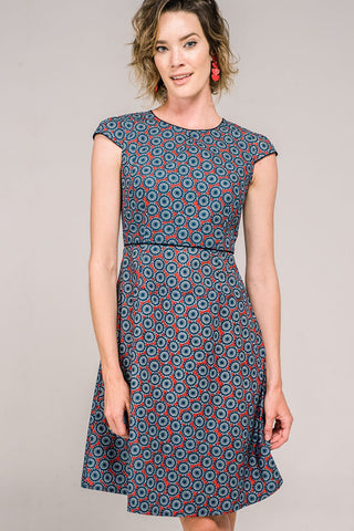 Jasmine Dress Daisy Wheel