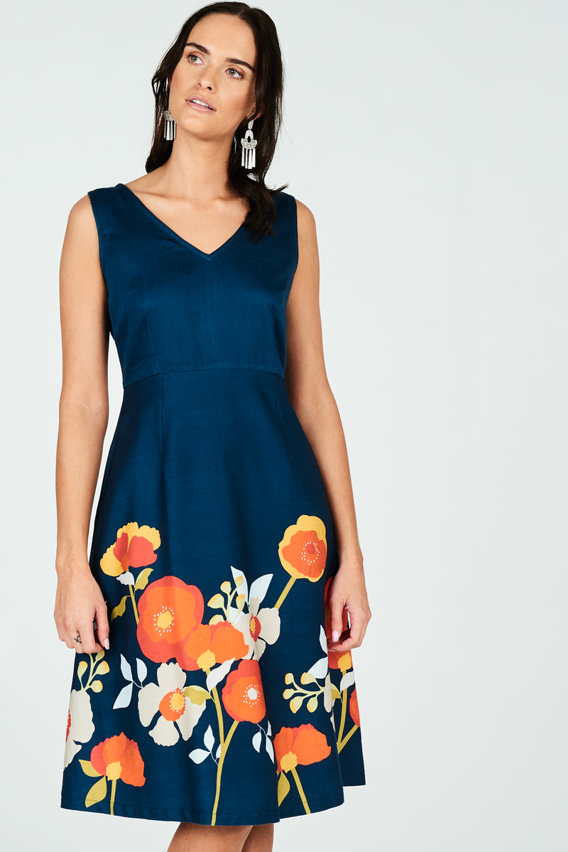 Kita Dress Poppy
