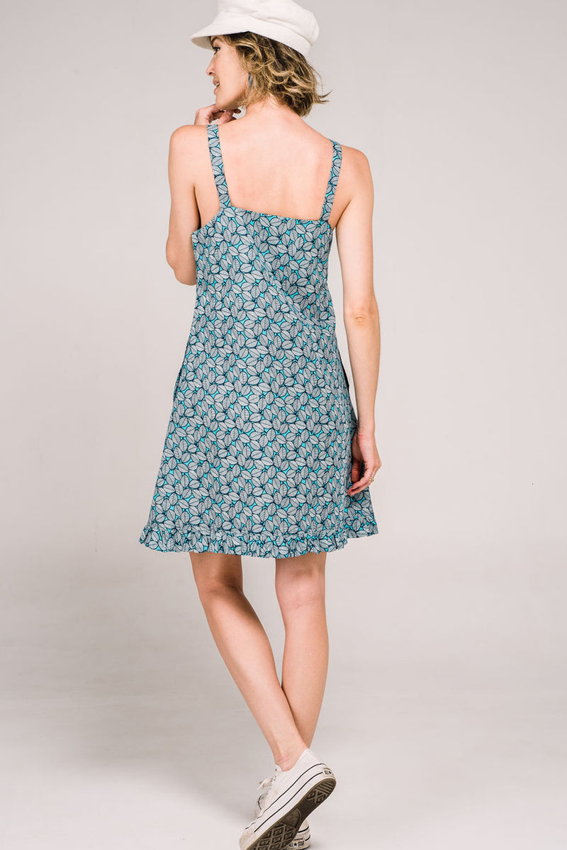 Krissi Dress Fallen Leaves