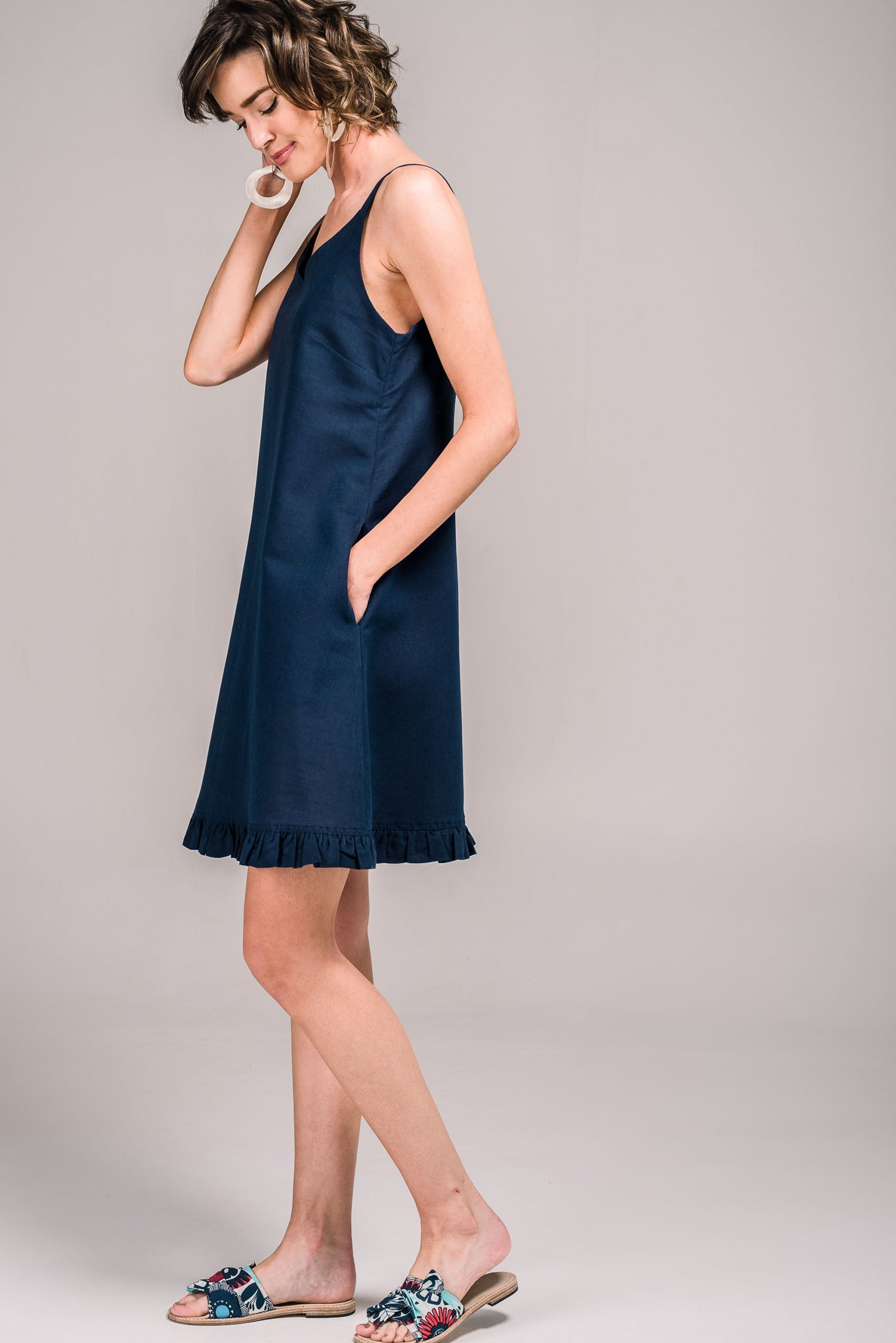 89d61d5902a Krissi Dress French Navy Krissi Dress French Navy ...