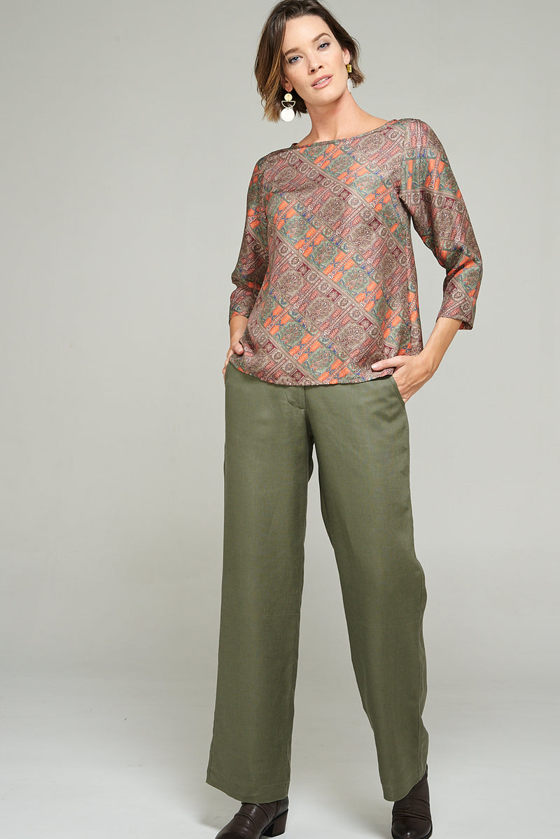 Mood Pant Khaki Forest