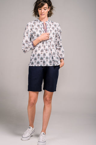 Louisa Shorts French Navy