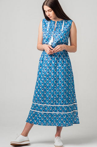 Isla Maxi Dress Cornflower