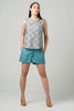 Rome Shorts <br>Teal Blue