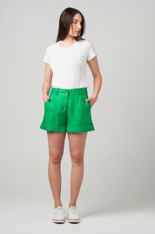 Rome Shorts <br>Irish Green