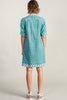 Lizzie Dress<br> Turquoise Spruce