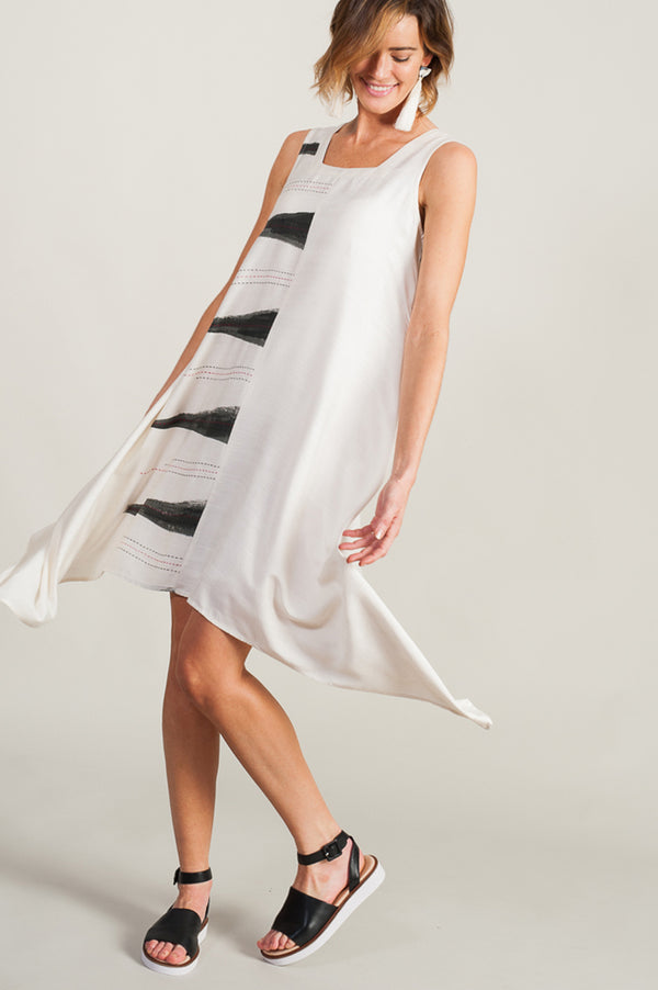 Sophia Dress Monochrome