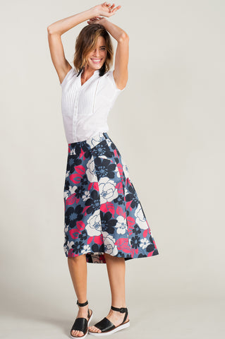 Margie Skirt <br>Peony Red