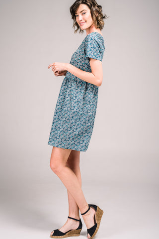 Ramona Dress Fallen Leaves