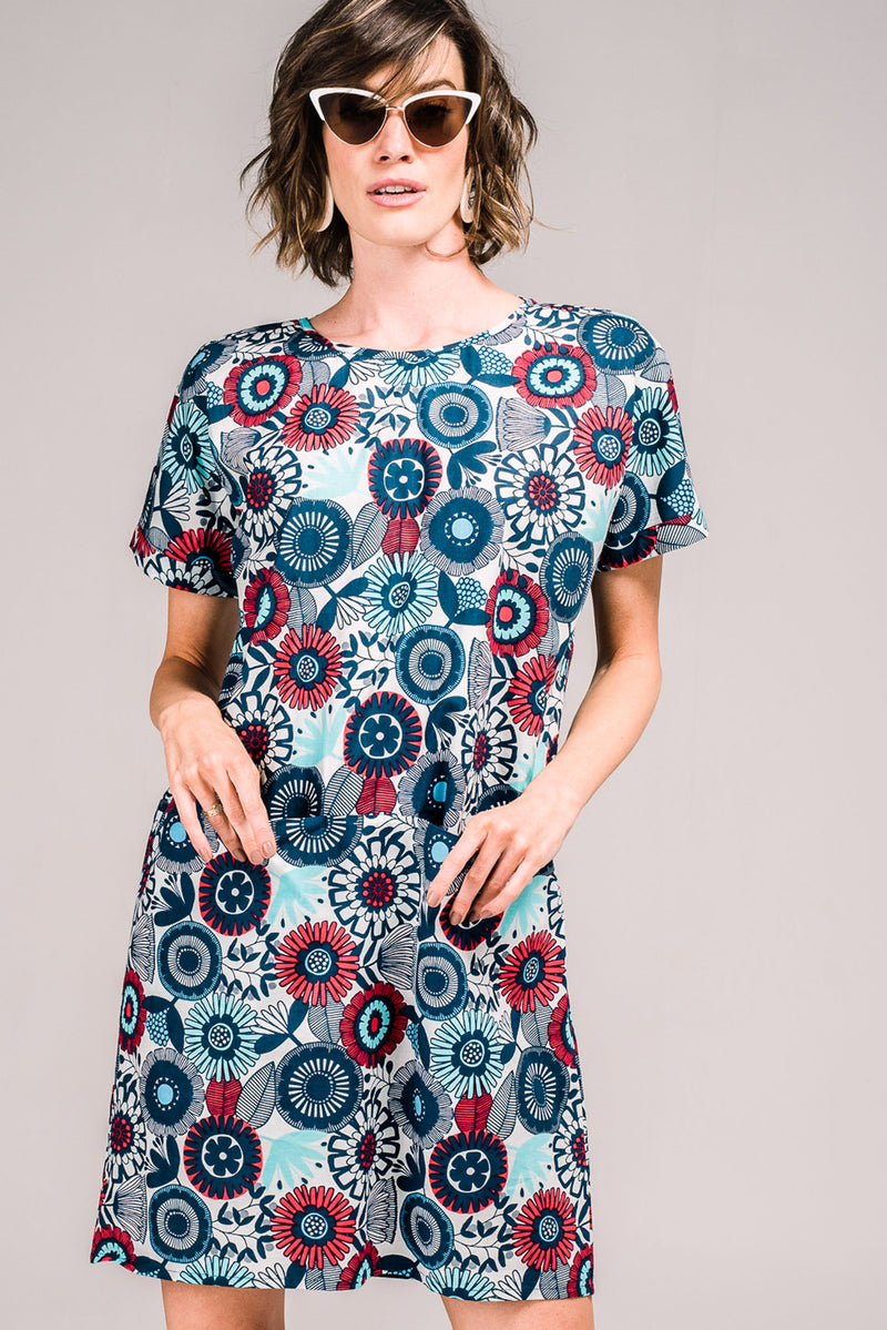 Sorrel Dress Hothouse Flowers
