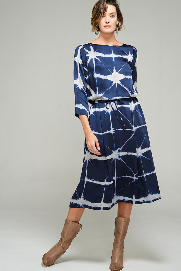 Spirit Dress Indigo Star