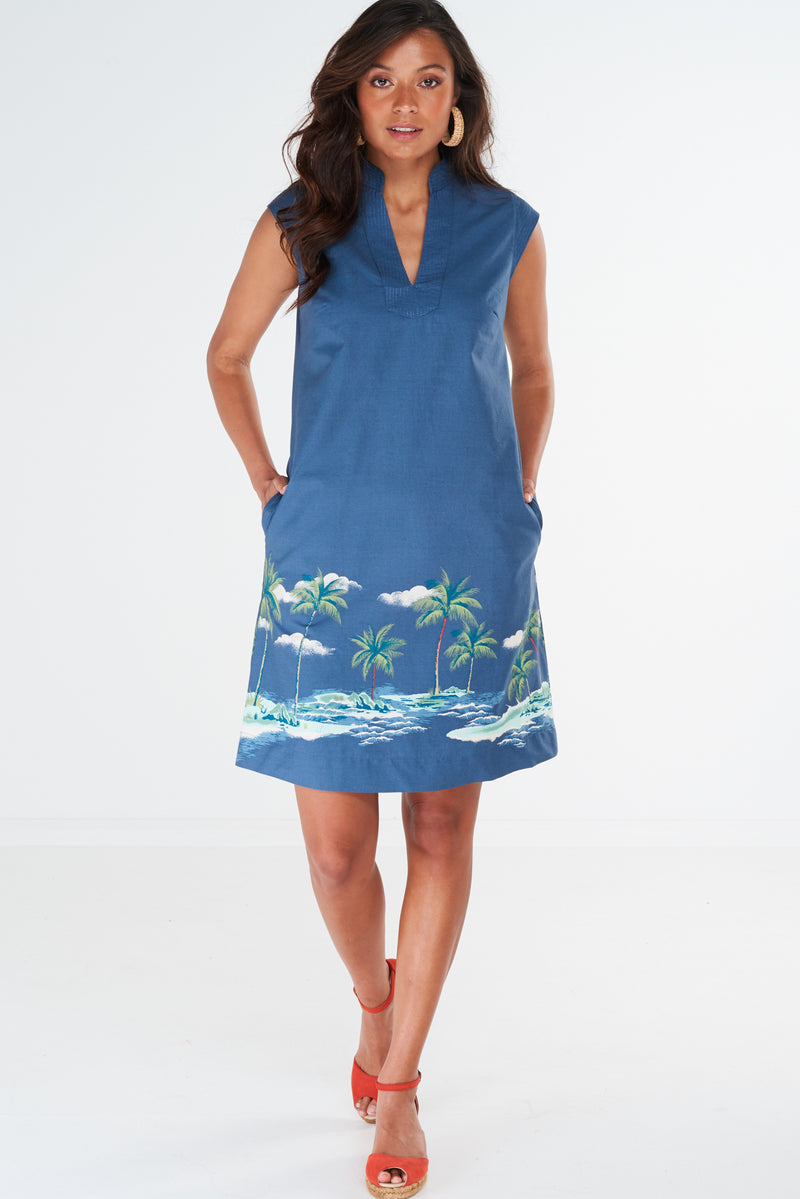 Unity Dress Moonlit Palm