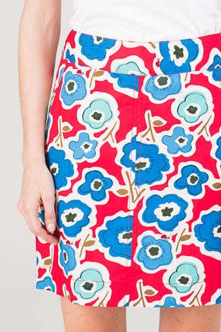 Verona Skirt Watermelon Flower