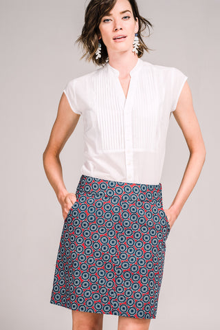 Verona Skirt Daisy Wheel