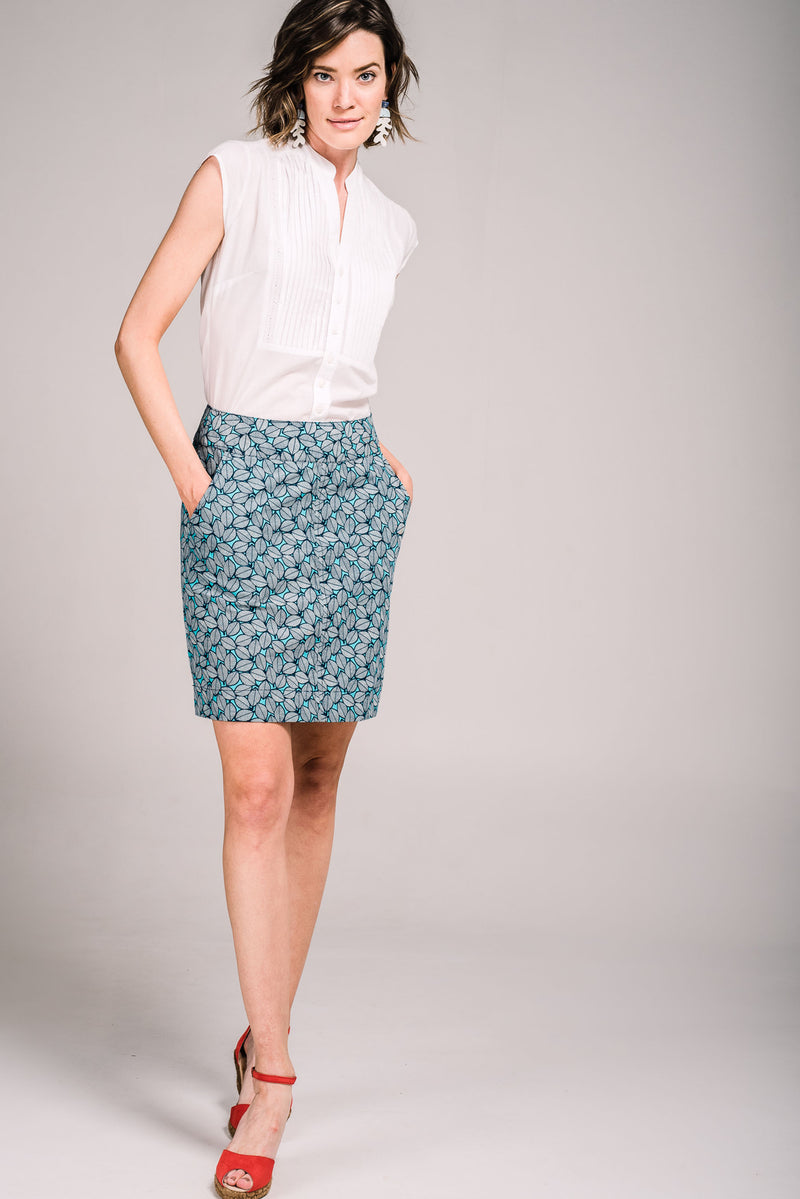 Verona Skirt Fallen Leaves
