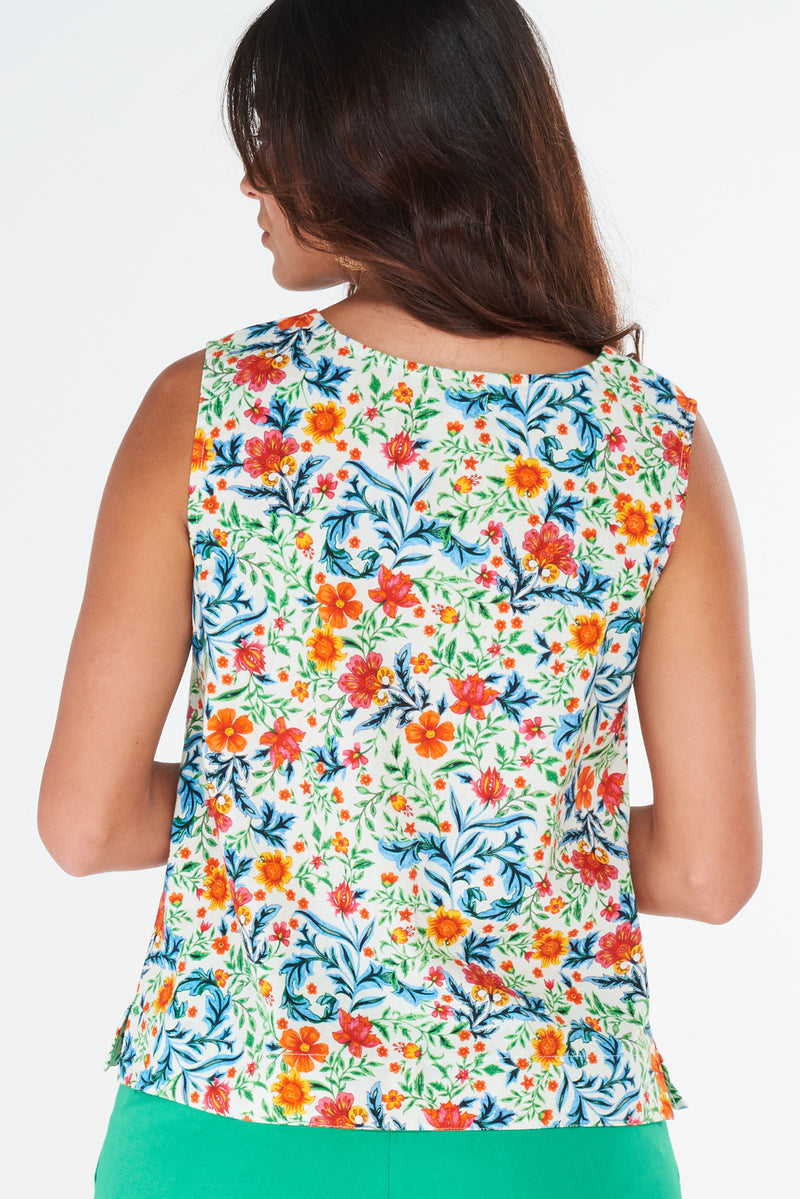 Viva Vest Wildflower White